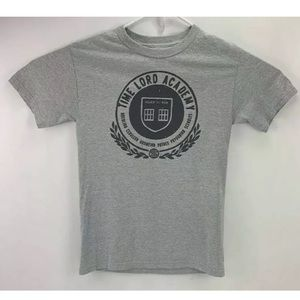 Doctor Who Time Lord Academy Mens T-Shirt Small